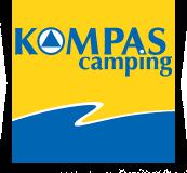 Logo kompas camping