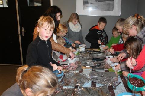 foto knutselen met kinderen